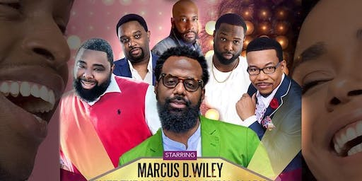 LAUGHTER FOR THE SOUL PHILLY 19 FEAT- MARCUS D. WILEY AND FRIENDS