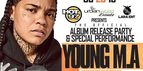 YOUNG M. A. PERFORMING LIVE :: ALBUM RELEASE PARTY :: FIND THE PARTY tickets