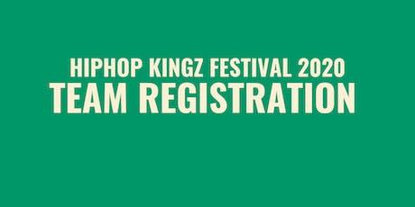 Team Registration | Hiphop Kingz Festival 2020 tickets