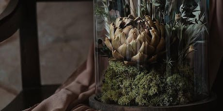 Dried flower cloche workshop with Thistle by Nature tickets