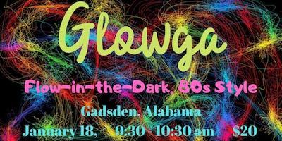 Glowga Flow, 80s Style (Flow-in-the-Dark Yoga) Gadsden, AL