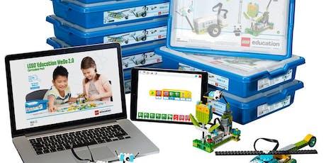 Aula Experimental - Lego Robótica bilhetes