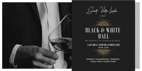 Black & White  Ball tickets