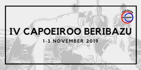 Capoeiroo Beribazu Capoeira Grading & Workshops 2019 tickets