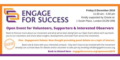 Engage for Success Open Event 2019