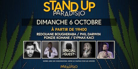 Stand-Up Paradisio #5 : Comedy Club billets