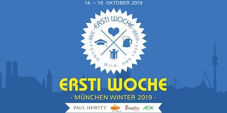 ERSTI WOCHE München Winter 2019 Tickets