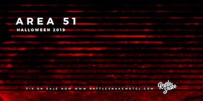 AREA 51: Halloween 2019 at Rattlesnake