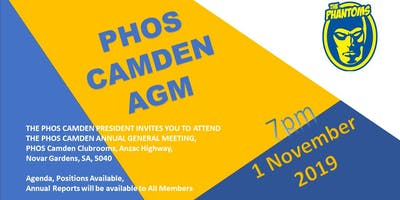 PHOS Camden Annual General Meeting 2019