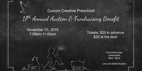 Curzon Creative Preschool 17th Annual Auction & Fundraising Benefit billets