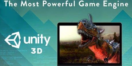 Aula Experimental - Jogos 3D Unity Creative tickets