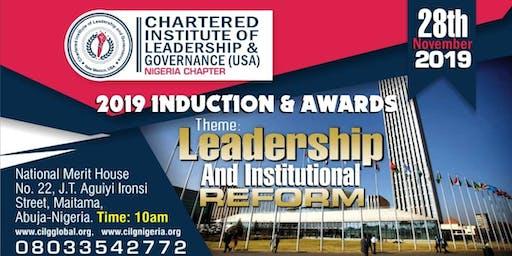 CILG 2019 INDUCTION & AWARDS