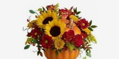 Pumpkin arrangement workshop at the Harwich Cultural Center tickets