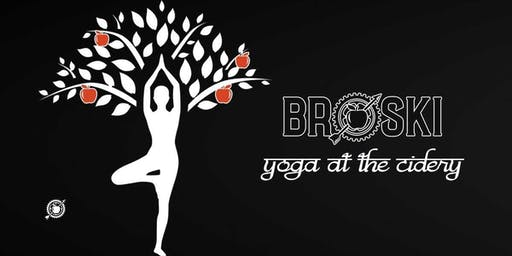 Yoga at Broski Ciderworks- October 20, 2019