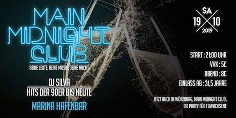 Main Midnight Club Vol 9 goes Marina Hafenbar Ü31, 5 Tickets