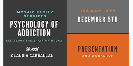 Psychology of Addiction  tickets