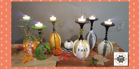 Painted Wine Glass Gourd Trio Workshop tickets