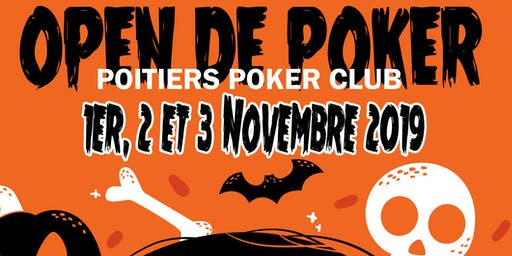 POITIERS POKER CLUB - inscription DAY 1 A ou B -OPEN Novembre 219