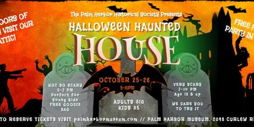 Hartleys Haunted House @ Palm Harbor Museum
