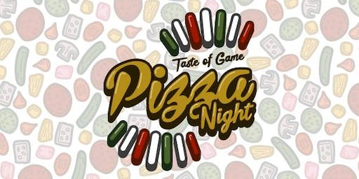 Pizza Night with a Taste of Game