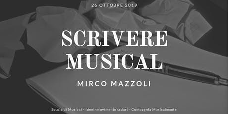 Scrivere Musical tickets
