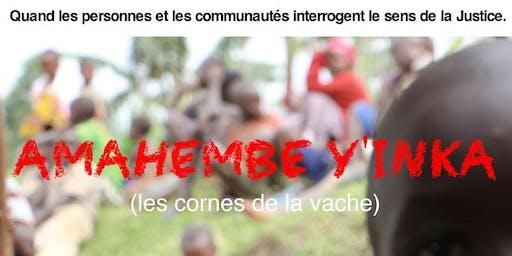 """Projection du film """"Amahembe y'inka  (Les cornes de la vache)"""""""