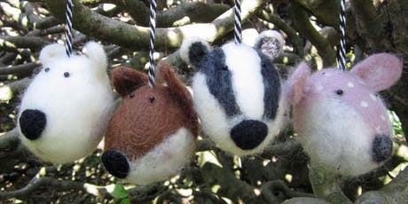 Needle Felting | Winter Wonderland Animal Baubles tickets
