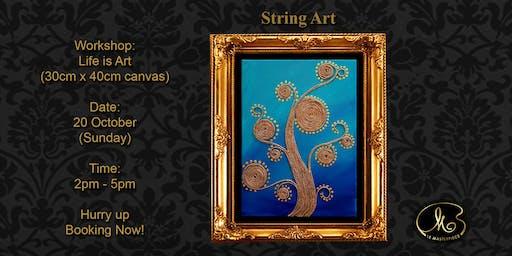Workshop (String Art): Life is Art