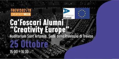 Creativity Europa con gli Alumni di Ca' Foscari