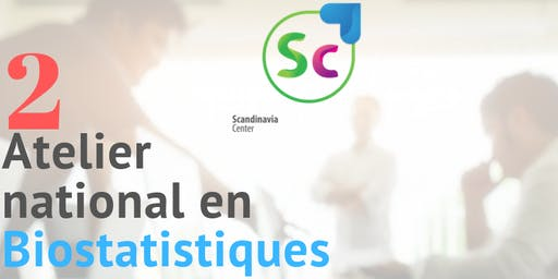 2 Atelier national en Biostatistique et analyse de donnees