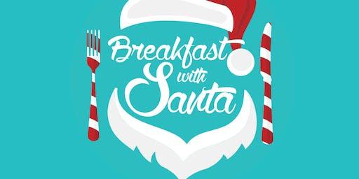 Father Christmas kids breakfast