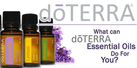 Improve your Health with Essential Oils and Daily Healthy Habits tickets