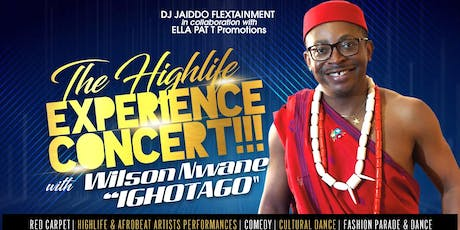 Wilson Nwane Highlife Experience Concert tickets