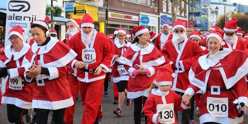 Staines-upon-Thames Santa Fun Run 2019