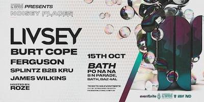 Wobble&Bass Sessions#04: LIVSEY TOUR - NOISEY PLACES