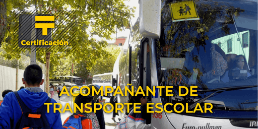 Certificación de Acompañante de transporte escolar | Talentia Summit '19