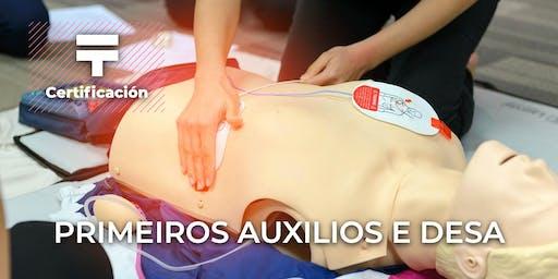 Certificación en Primeros auxilios y DESA | Talentia Summit '19