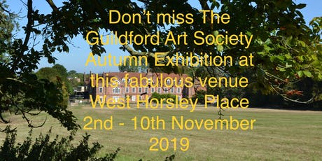 Guildford Art Society 2019 Autumn Exhibition tickets