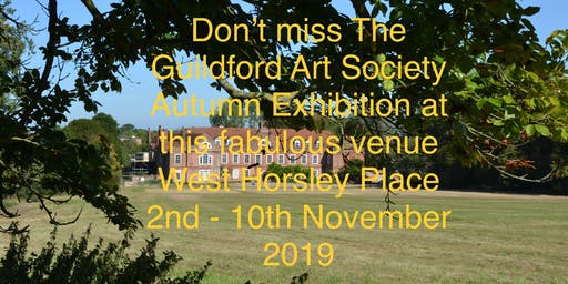 Guildford Art Society 2019 Autumn Exhibition