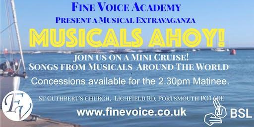 Musicals Ahoy!