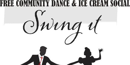 Free Swing Dance & Ice Cream Social