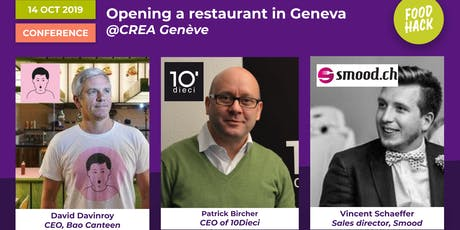 Opening and growing a restaurant in Geneva Tickets