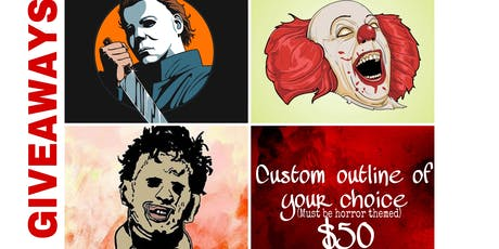 Halloween costume paint party tickets
