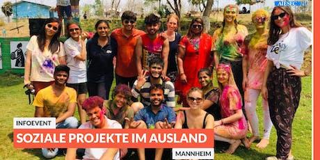Ab ins Ausland: Infoevent zu sozialen Projekten im Ausland | Mannheim Tickets