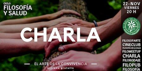 Charla-coloquio: El arte de la convivencia entradas