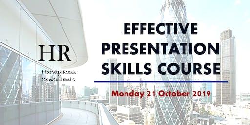 Effective Presentation Skills Course