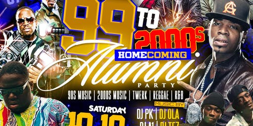 99s to 2000s Alumni Homecoming Party