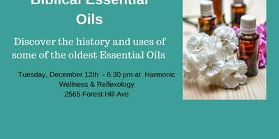 Essential Oils Mentioned in the Bible