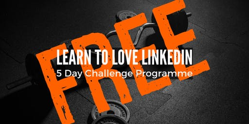 Learn To Love LinkedIn 5 Day Online Challenge