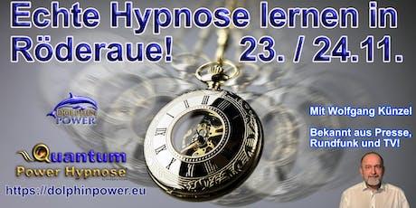Grundseminar Hypnose inkl. Quantum Power Hypnose® mit Wolfgang Künzel Tickets